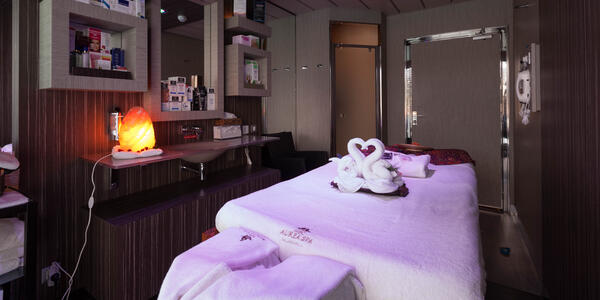 Eucalyptus Massage Room on MSC Divina