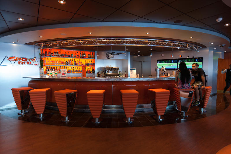 Sports Bar on MSC Divina