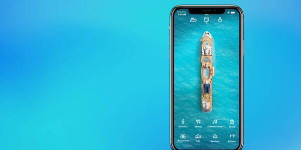 Celebrity Cruises app (Photo: Celebrity Cruises)