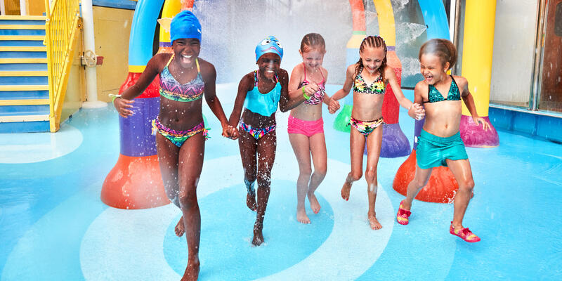 Kids Playing at WaterWorks on Carnival Vista (Photo: Carnival Cruise Line)