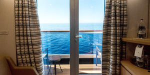 The Verandah Cabin's Balcony on Westerdam (Photo: Cruise Critic)