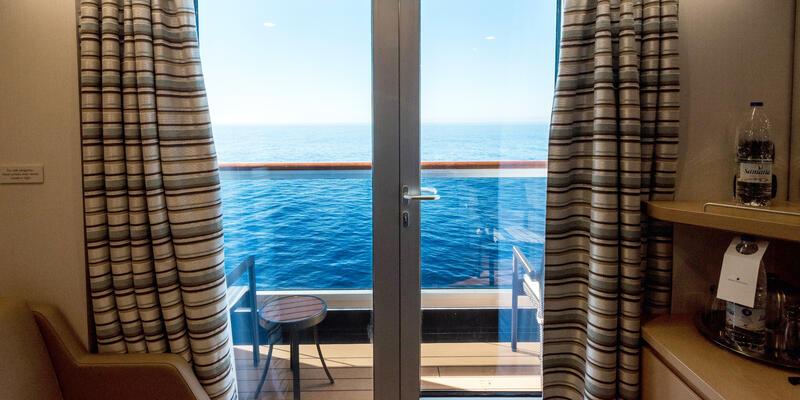 The Verandah Cabin's Balcony on Westerdam (Photo: Cruise Critic)