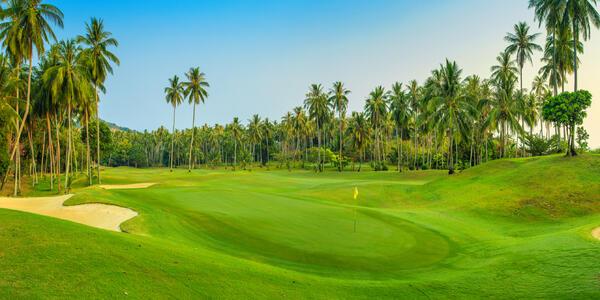 Golf course in Koh Samui (Photo: Zhukova Valentyna/Shutterstock.com)