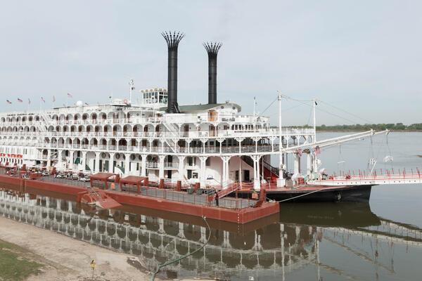 Ship Exterior on American Queen