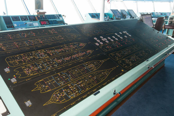 Cruise ship control room (Photo: Cruise Critic)