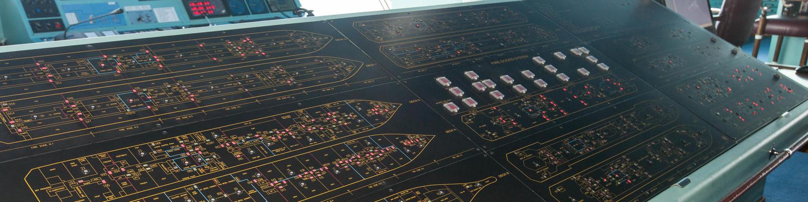 Cruise ship control room (Photo: Cruise Critic)
