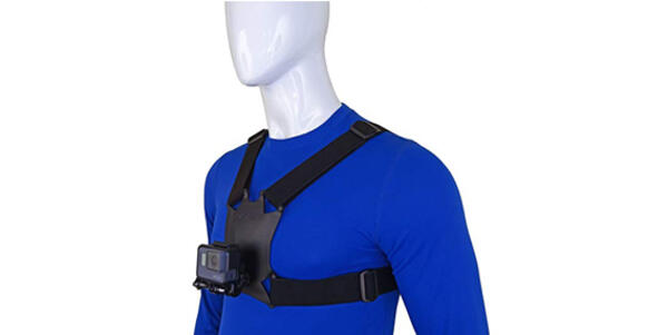 Stuntman Chest Harness for Action Cameras (Photo: Amazon)