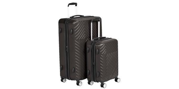Amazon Basics Expandable Geometric Luggage (Photo: Amazon)