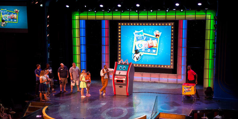 Hasbro's Game Show in Ovation Theater on Carnival Breeze (Photo: Cruise Critic)