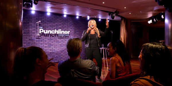 Punchliner Comedy Club (Photo: Carnival Cruise Line)