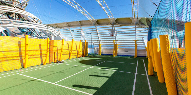 Sport Courts on Ruby Princess (Photo: Cruise Critic)