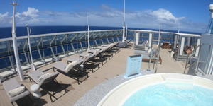 Retreat Sun Deck on Celebrity Summit  (Photo: Gina Kramer/Cruise Critic)