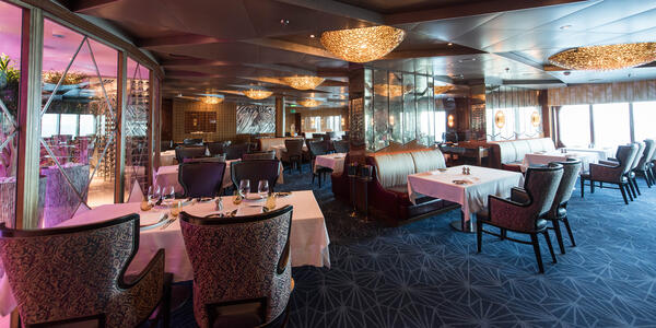 Pinnacle Grill on Nieuw Statendam (Photo: Cruise Critic)