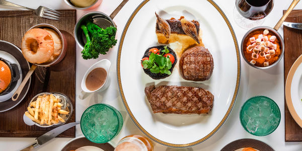 Steakhouse at the Verandah (Photo: Cunard)