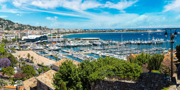 Cannes, France (Photo: S-F/Shutterstock)