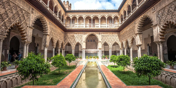 Royal Alcázar of Seville, Spain (Photo: javarman/Shutterstock)