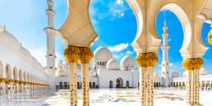 The Grand Mosque in Abu Dhabi (Photo: Luciano Mortula - LGM/Shutterstock.com)