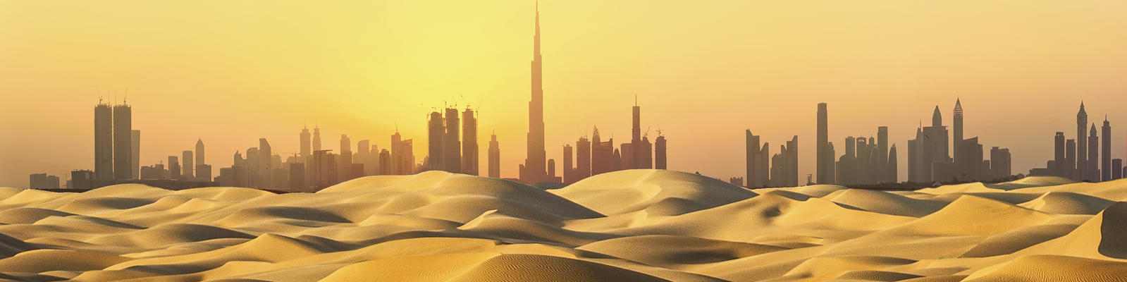 The Dubai skyline at sunset (Photo: WaitForLight/Shutterstock.com)