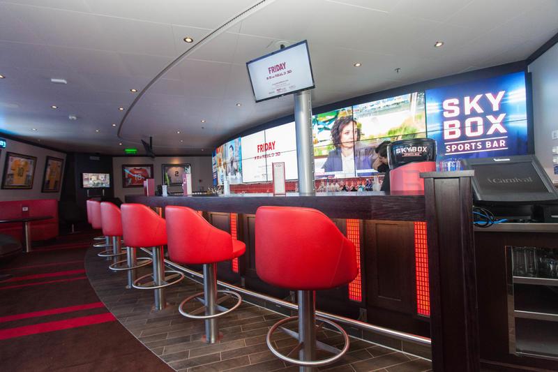 Sports Bar on Carnival Valor Cruise Ship - Cruise Critic