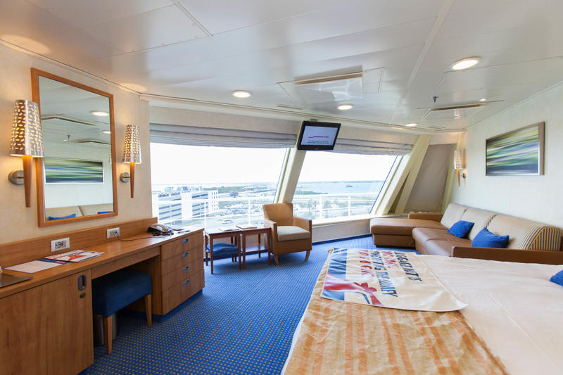 The Scenic Ocean View Cabin on Carnival Valor