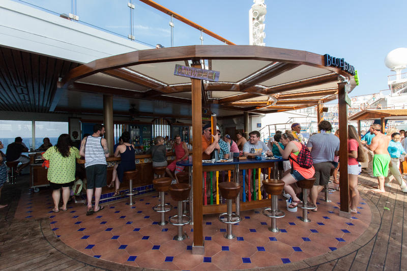 BlueIguana Tequila Bar on Carnival Valor