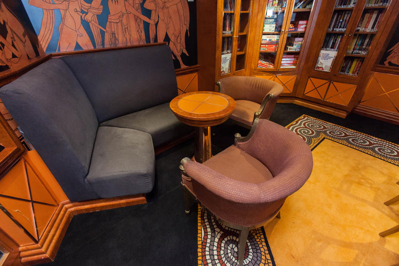 Iliad Library on Carnival Valor
