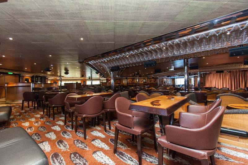 Eagles Aft Lounge on Carnival Valor