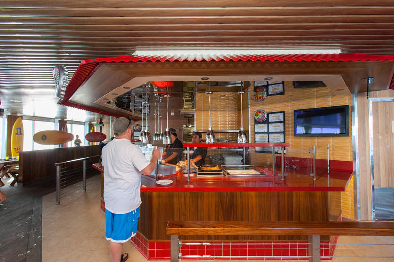 Guy's Burger Joint on Carnival Valor