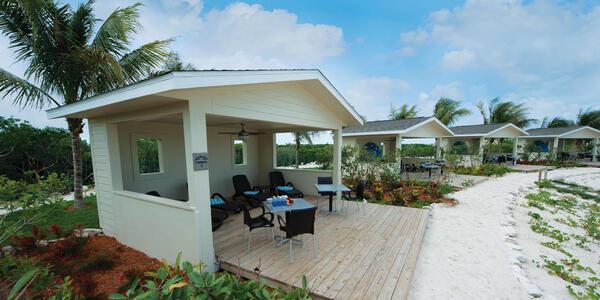 Large Cabanas on Great Stirrup Cay (Photo: Norwegian Cruise Line)