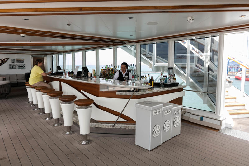 Sea View Bar on Koningsdam