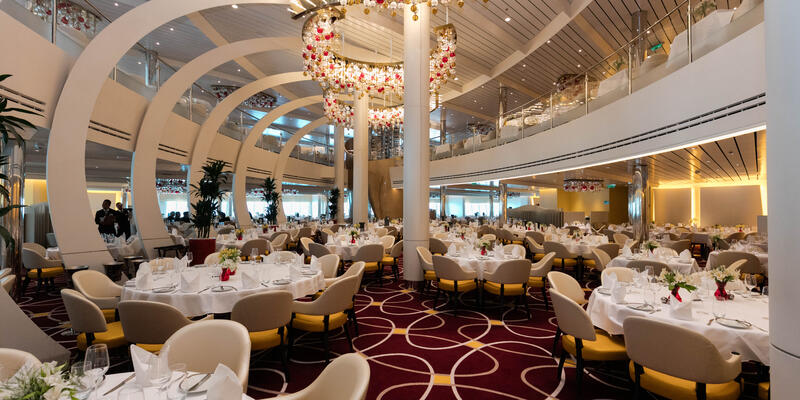 The Dining Room on Koningsdam