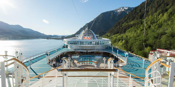The Sky Deck on Ruby Princess (Photo: Cruise Critic)