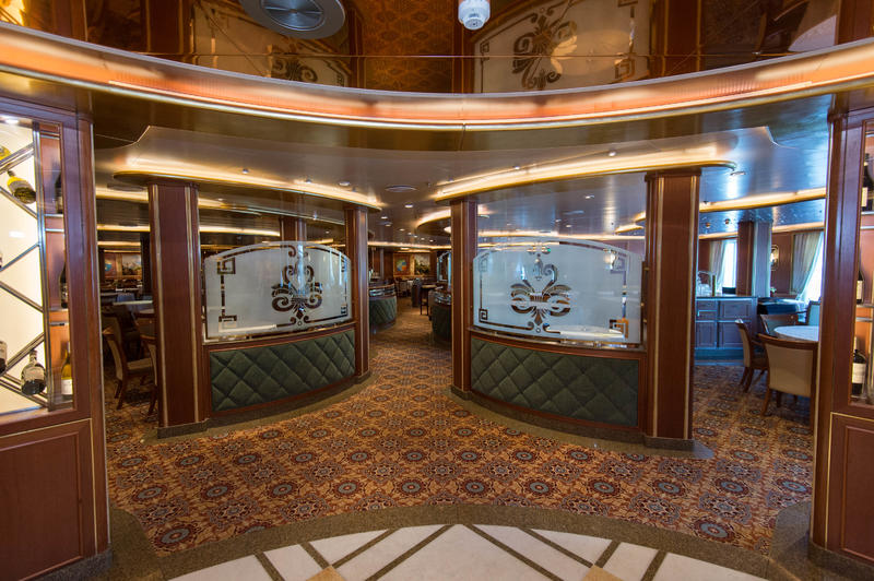 Michelangelo Dining Room on Ruby Princess