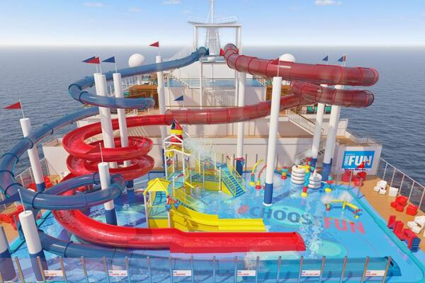 The WaterWorks on Carnival Panorama (Image: Carnival Cruise Line)