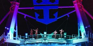 Splish Splash Comedy Dive Show Diving Performance (Photo: Royal Caribbean International)