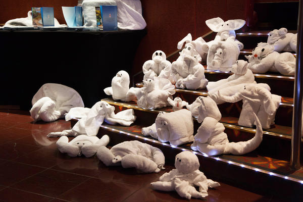 Towel Animals (Photo: Cruise Critic)