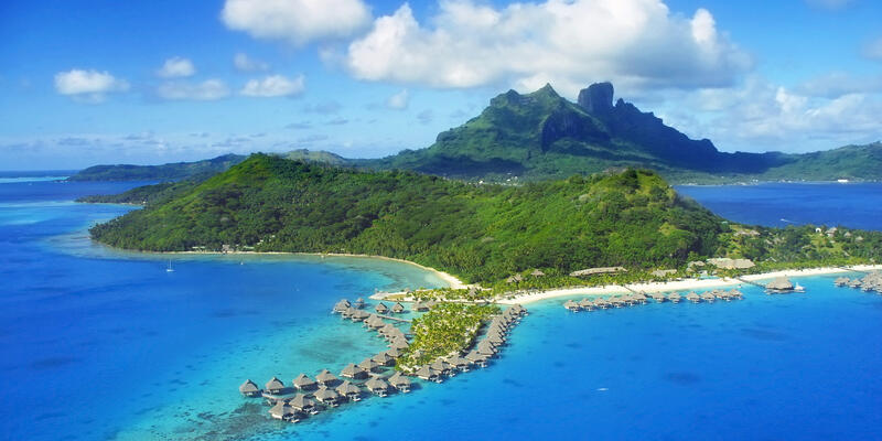 Aerial View of Bora Bora (Photo: Christian Wilkinson/Shutterstock)