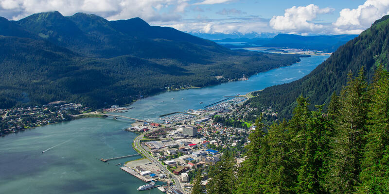 Juneau, Alaska (Photo: Greg Browning/Shutterstock)