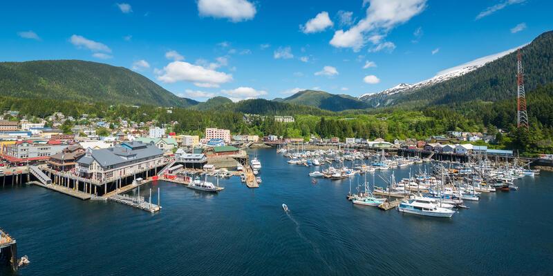 Ketchikan, Alaska (Photo: AC Photoviz/Shutterstock)