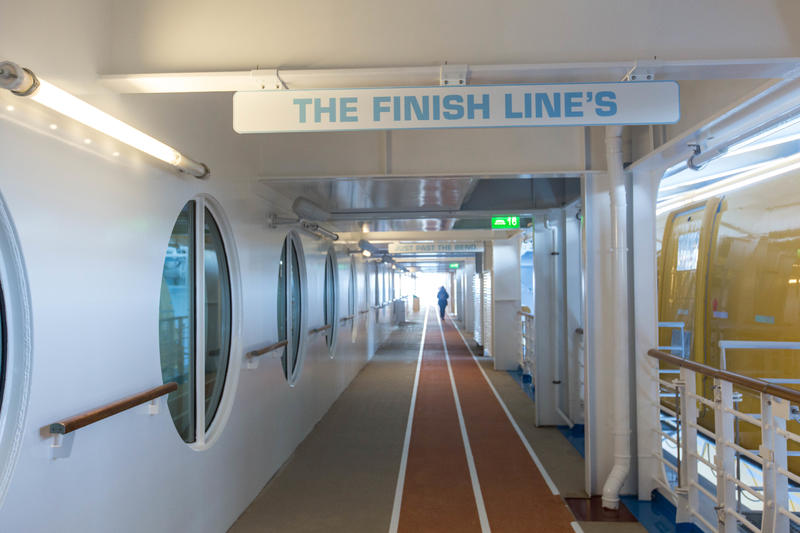 Jogging Track on Harmony of the Seas