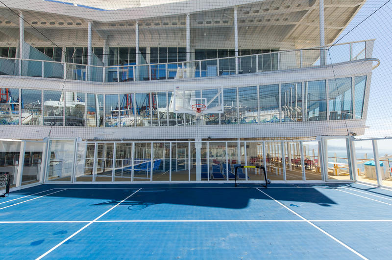 Sports Court on Harmony of the Seas