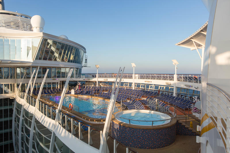 The Sky Deck on Harmony of the Seas