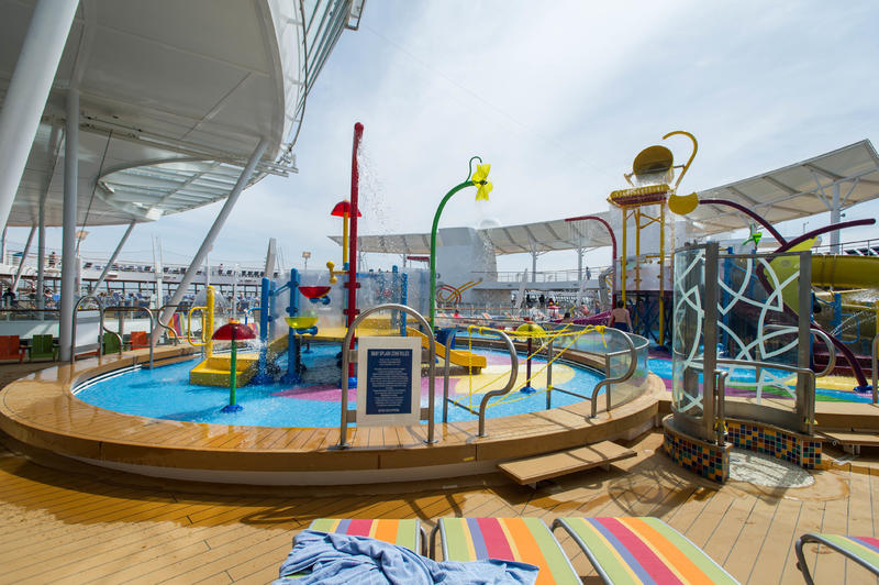 The Splashaway Bay on Harmony of the Seas