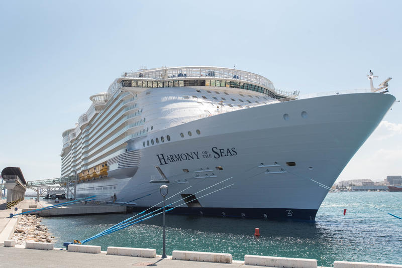 Ship Exterior on Harmony of the Seas