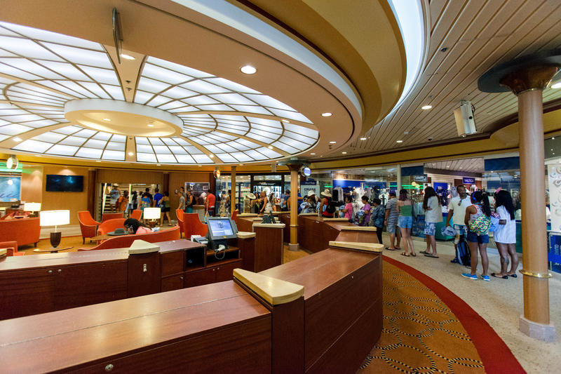 Centrum Shops on Majesty of the Seas