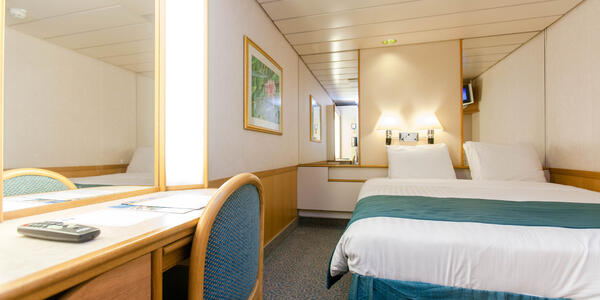 Inside Cabin on Majesty of the Seas