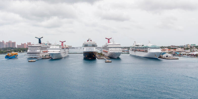 Cruise ships in Nassau (Photo: Cruise Critic)