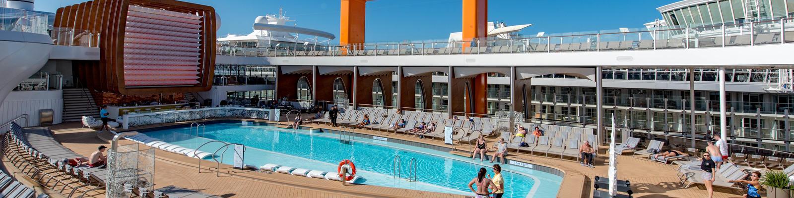 The main pool on Celebrity Edge (Photo: Cruise Critic)