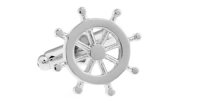 Men's Nautical Cufflinks (Photo: Amazon)