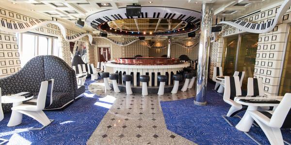 Piano Man Bar on Carnival Liberty (Photo: Cruise Critic)